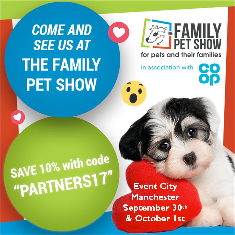 Family Pet Show with Date & Location Info